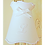 Thumbnail: Abat-jour gustavien drap blanc brodé