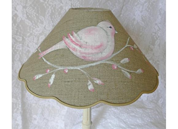 Conique oiseau rose