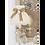 Thumbnail: Abat-jour dôme à col dentelle ivoire