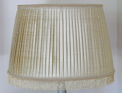 Abat-jour plissé plat