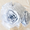Thumbnail: Rose en papier gris bleu gustavien