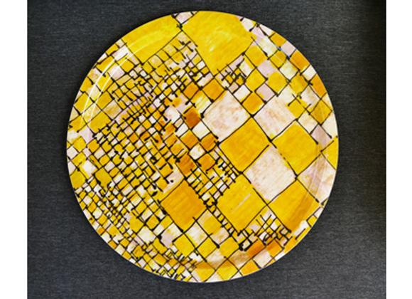 Plateau Rubiscube jaune