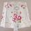 Thumbnail: Abat-jour carré alsacien tissu romantique