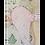 Thumbnail: Ailes d'ange rose poudré 60cm