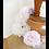 Thumbnail: Couronne de roses shabby chic