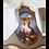 Thumbnail: Abat-jour gustavien vigié Lebrun peintre