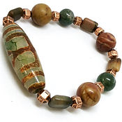 Men's gemstone bracelet
