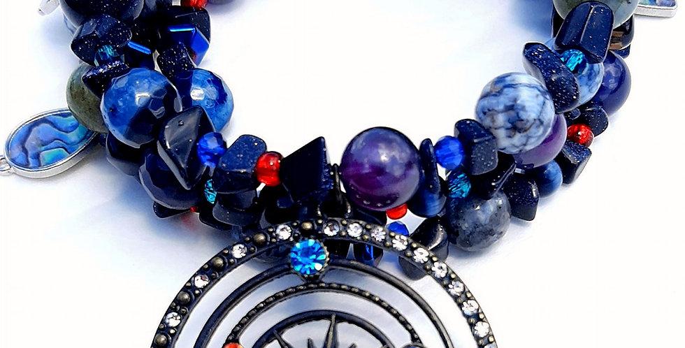 Galaxies Wrap Bracelet