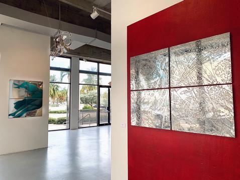 Glo Creativ Gallery, Miami. Art Basel Miami week.