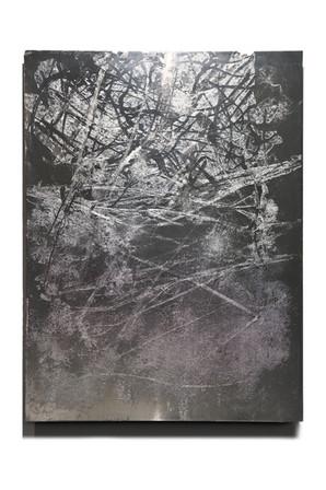 """At Dusk"", polished zinc, 20"" x 24"" (50 cm x 60 cm)"