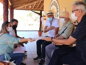 Presidente da Fapesq e secretário de C&T do Estado visitam a Reserva Olho D'agua das Onças em Picuí