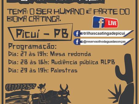 Associação e Reserva Ecológica realizam a VII Semana Municipal do Bioma Caatinga em Picuí