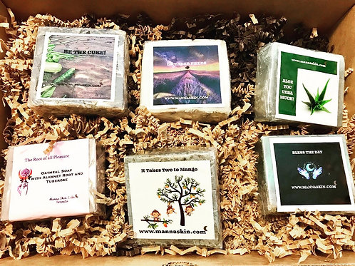 Handmade Botanical Plantbased Soap Gift Set