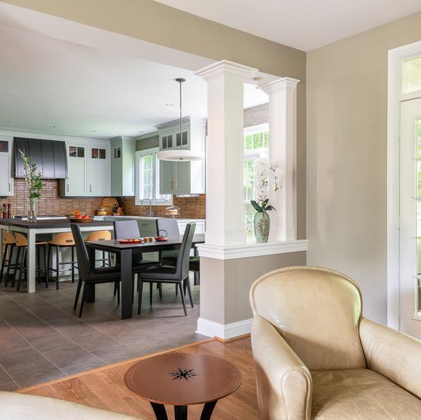 stylish MD kitchen renovation