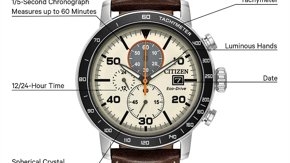 Gents Citizen Eco-Drive Brycen CA0649-06X