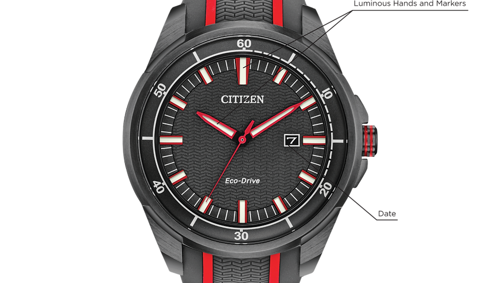 Gents Citizen Eco-Drive Drive AW1607-03H