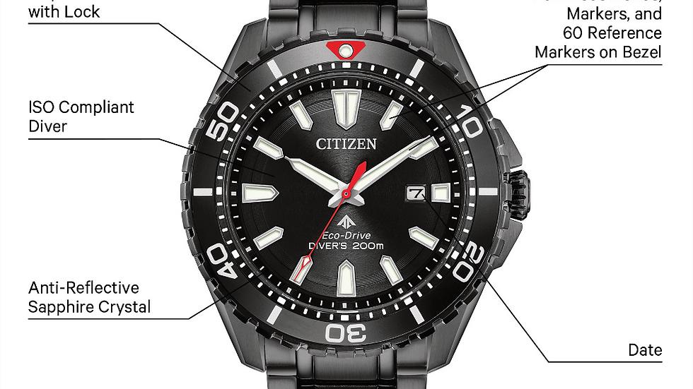 Gents Citizen Eco-drive Promaster Diver BN0195-54E