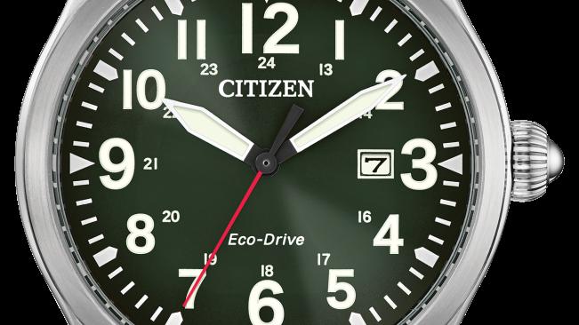 Gents Citizen Eco-drive Garrison BM6838-09X
