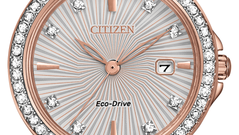 Ladies Citizen Eco-Drive Silhouette Crystal EW2348-56A