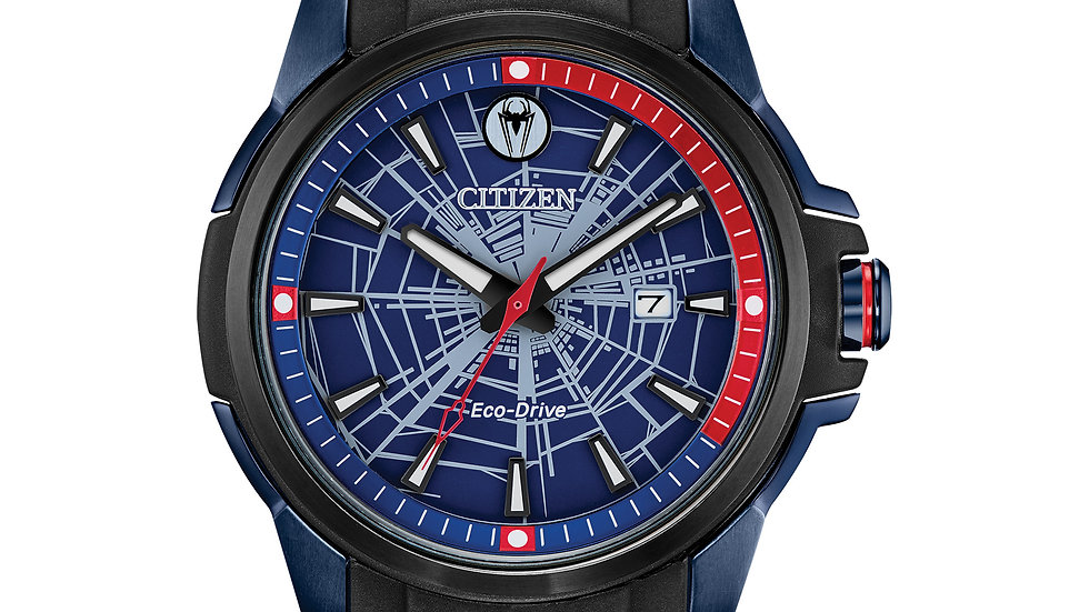 Gents Citizen Eco-Drive SPIDER MAN AW1156-01W