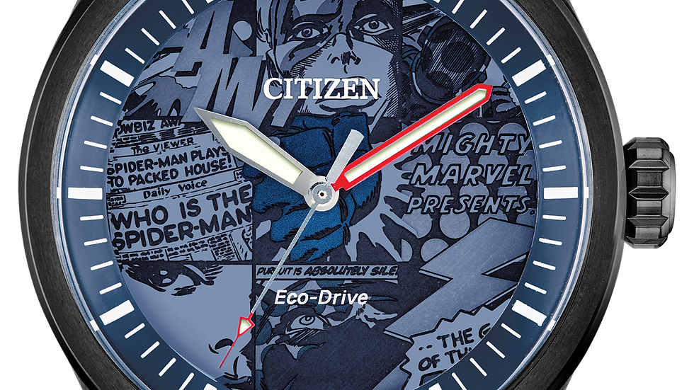 Gents Citizen Eco-Drive MARVEL HEROES AW2037-04W