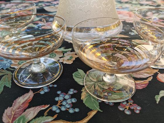 Coupes en verre
