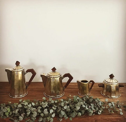 Service a café années 30