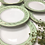 Thumbnail: 8 assiettes plates L'Amandinoise