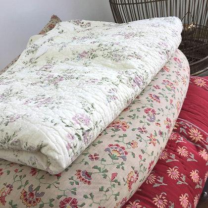 Dessus de lit en coton