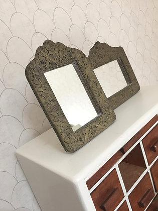 Duo miroirs orientaux