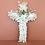 Thumbnail: Croix en fleurs séchées