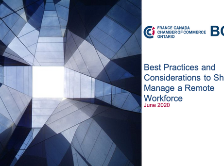 Best Practices and Considerations to Shift and Manage a Remote Workforce