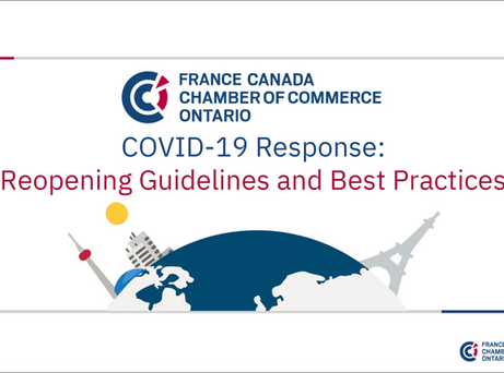 COVID-19 Reopening Best Practices and Guidelines