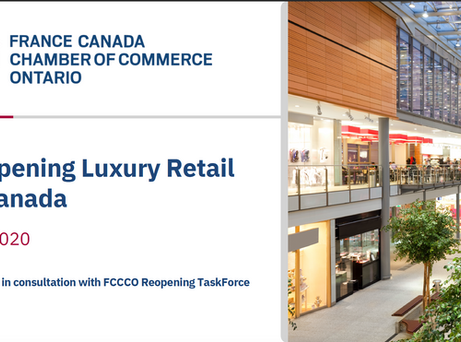 Reopening Luxury Retail in Canada