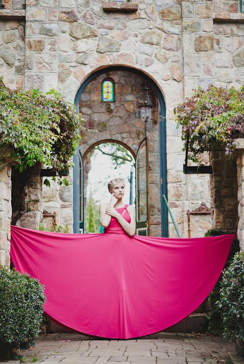 Convertible Dress - Full Circle Skirt (2