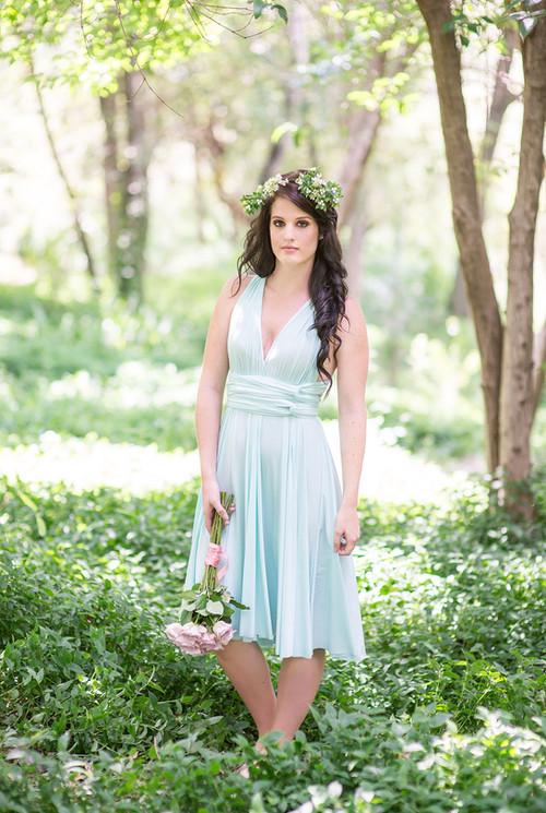 Convertible Dress - Full Circle Skirt (5
