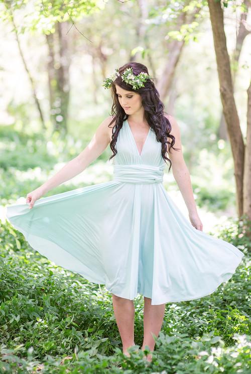 Convertible Dress - Full Circle Skirt (6