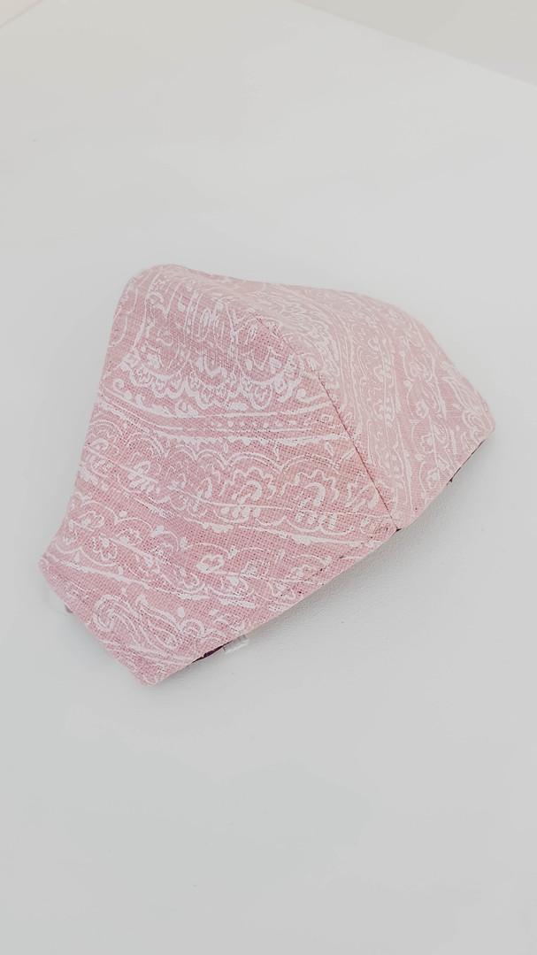 Paisley Pink (Linen)