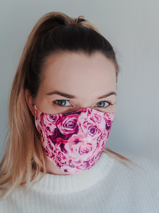 Roses Mask