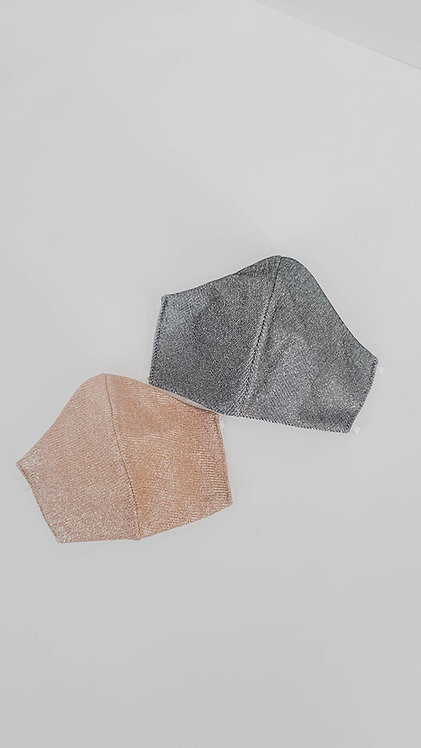Glitter Face Mask (Moldable)
