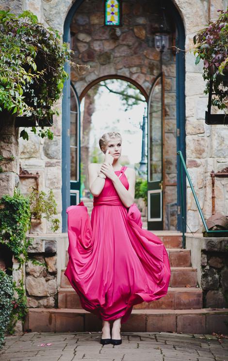 Convertible Dress - Full Circle Skirt (3