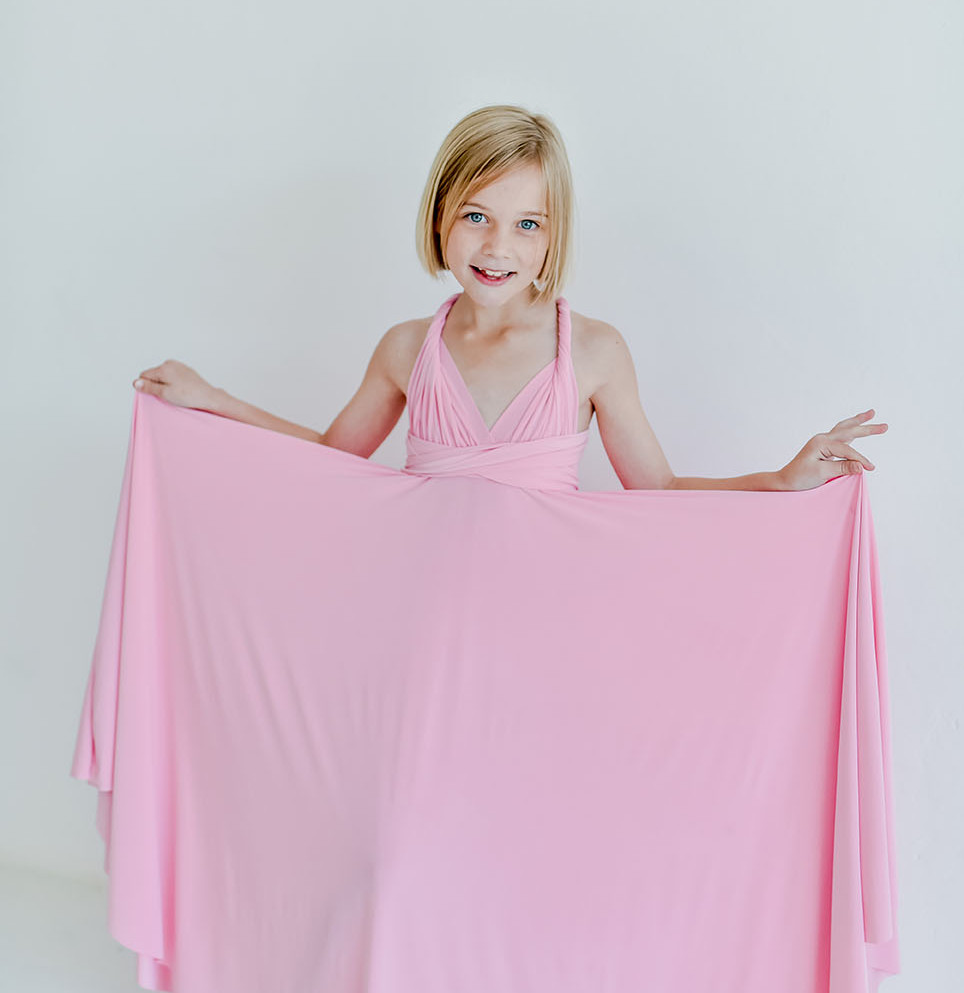 Gelique Convertible Flower Girl Dress
