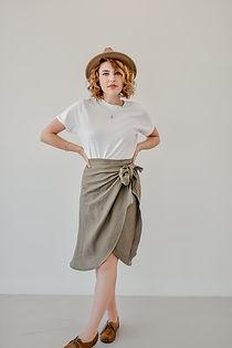 Calla Wrap Skirt