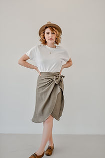 Calla Wrap Skirt