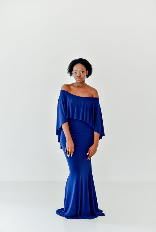 Gelique Issy Cape Dress