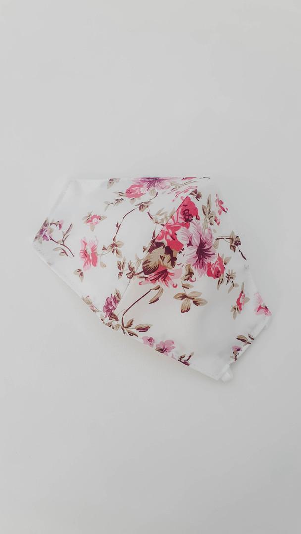 White Pink Rose