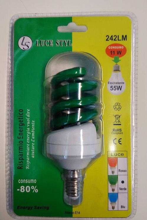 Risparmio energetico VERDE 11w - prezzo finito