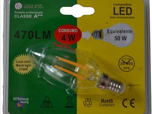 OLIVA 4W E14 LED FILAMENT- promo da 6.50€ a 2.30€