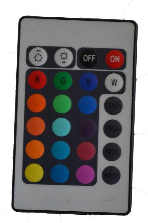 CONTROLLO RGB MANUALE + TELECOMANDO 12V MAX 3X2A