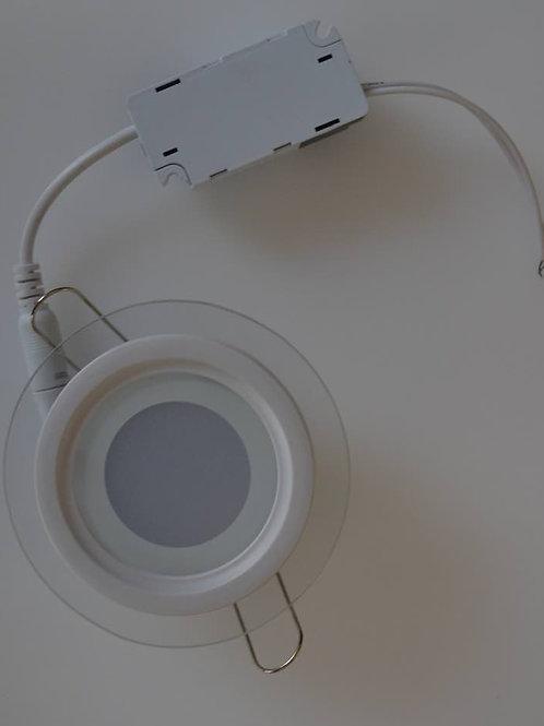 PANNELLO A LED ROTONDO 18W CRISTALLO